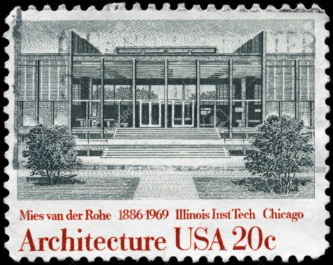 USA-Illinois-Institute-of-Technology-by-Ludwig-Mies-van-der ROHE