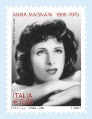 FRANCOBOLLO ANNA MAGNANI