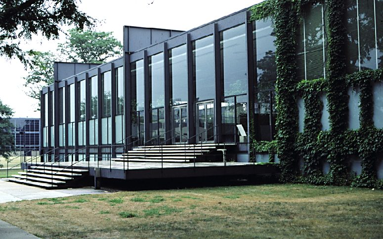 Mies van der Rohe:  Crown Hall,   Illinois Institute of Technology,   Chicago, 1956