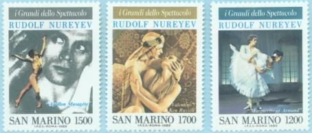 RUDOLF NUREYEV SAN MARINO